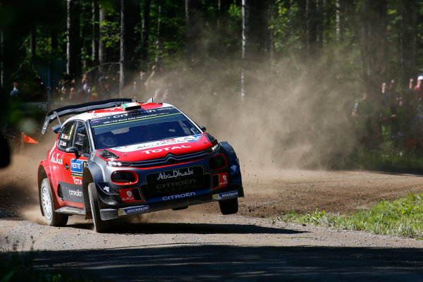 2017 FIA World Rally Championship, Round 09, Rally Finland / July 27 - 30, 2017, Craig Green, Citroen WRC, Action  Worldwide Copyright: McKlein/LAT