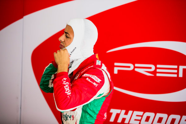 2017 FIA Formula 2 Round 4. Baku City Circuit, Baku, Azerbaijan. Saturday 24 June 2017. Antonio Fuoco (ITA, PREMA Racing)  Photo: Zak Mauger/FIA Formula 2. ref: Digital Image _56I7171