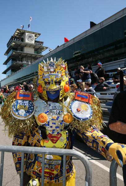 26  May, 2013, Indianapolis, Indiana,  USA Super Fan.(c)2013, Maria W. Grady LAT Photo USA .