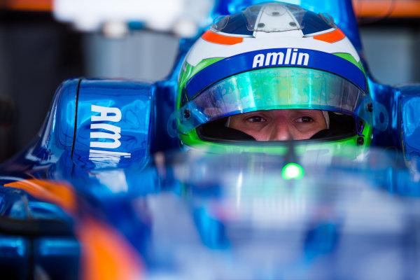 2015/2016 FIA Formula E Championship. Testing, Punta del Este, Uruguay. Sunday 20 December 2015. Simona De Silvestro (SUI), Andretti - Spark SRT_01E. Photo: Zak Mauger/LAT/Formula E ref: Digital Image _L0U0195