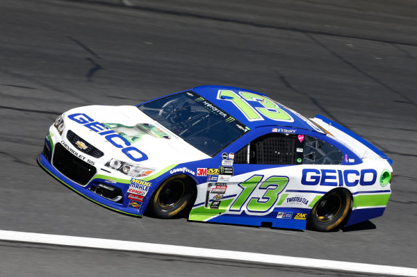 Monster Energy NASCAR Cup Series Bank of America 500 Charlotte Motor Speedway, Concord, NC Friday 6 October 2017 Ty Dillon, Germain Racing, GEICO Chevrolet SS World Copyright: Matthew T. Thacker LAT Images
