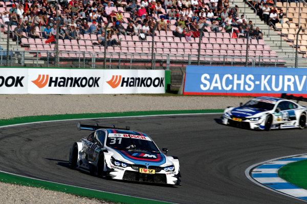 2017 DTM Round 9  Hockenheimring, Germany  Sunday 15 October 2017. Tom Blomqvist, BMW Team RBM, BMW M4 DTM  World Copyright: Alexander Trienitz/LAT Images ref: Digital Image 2017-DTM-HH2-AT2-1618