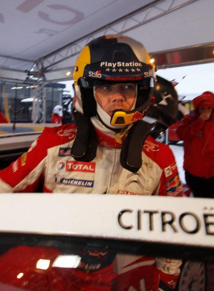Round 01-Rally Sweden. 10th-13th February 2011.Sebastien Loeb, Citroen WRC, PortraitWorldwide Copyright: McKlein/LAT