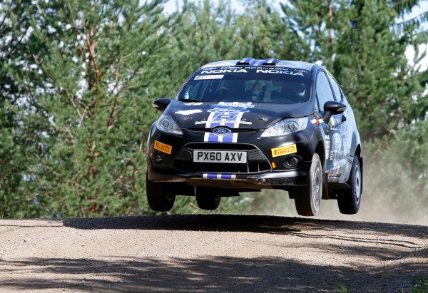 Round 8, Rally Finland, 28th - 30th July 2011Egon Kaur, Ford, ActionWorldwide Copyright: LAT/McKlein