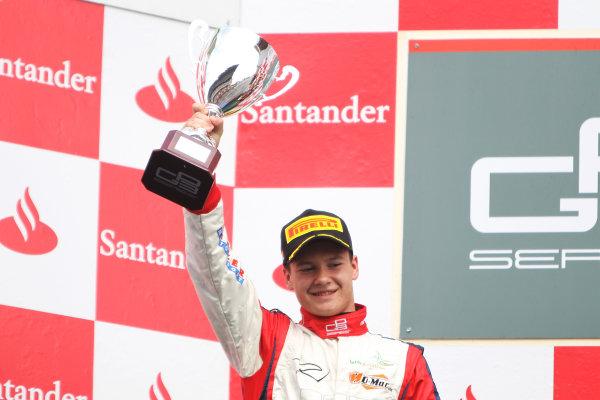 Circuit de Catalunya, Barcelona, Spain. 13th May 2012. Sunday Race. Robert Visoiu (ROM, Jenzer Motorsport) Portrait.  Photo: Glenn Dunbar/GP3 Media Service. ref: Digital ImageCG8C4496.jpg