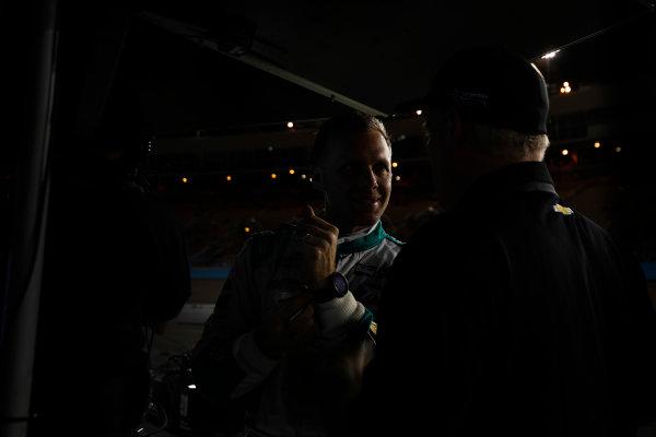 2017 IndyCar Media Day - Track Action Phoenix Raceway, Arizona, USA Saturday 11 February 2017 Ed Carpenter World Copyright: Michael L. Levitt/LAT Images ref: Digital Image _AT_3757
