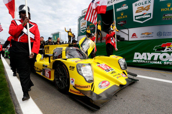 2017 Rolex 24 Hours. Daytona, Florida, USA Saturday 28 January 2017. #85 JDC/Miller Motorsports ORECA 07: Mikhail Goikhberg, Chris Miller, Stephen Simpson, Mathias Beche World Copyright: Alexander Trienitz/LAT Images ref: Digital Image 2017-24h-Daytona-AT1-3189