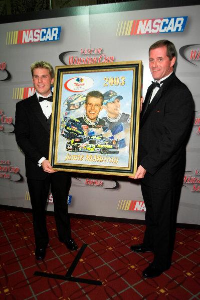 2003 NASCAR Winston Cup Championship BanquetNew York (NYC), Dec 5, 2003- Michael Kim, USA LAT Photography