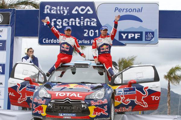 Round 06-Rally Argetina. 26th-29th May 2011.Sebastien Loeb, Citroen WRC, Portrait.Worldwide Copyright: McKlein/LAT