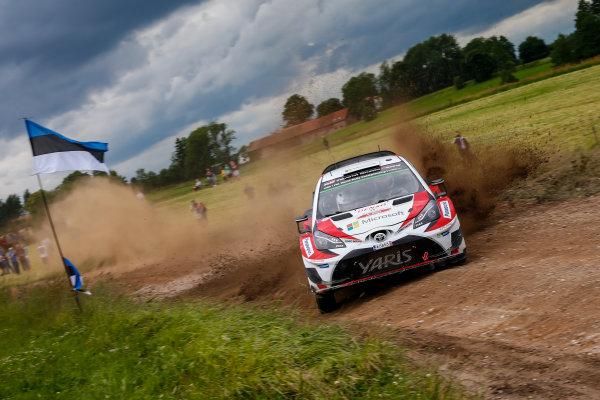 2017 FIA World Rally Championship, Round 08, Rally Poland / June 29 - July 2 2017, Juho Hanigen, Toyota, action, Worldwide Copyright: McKlein/LAT