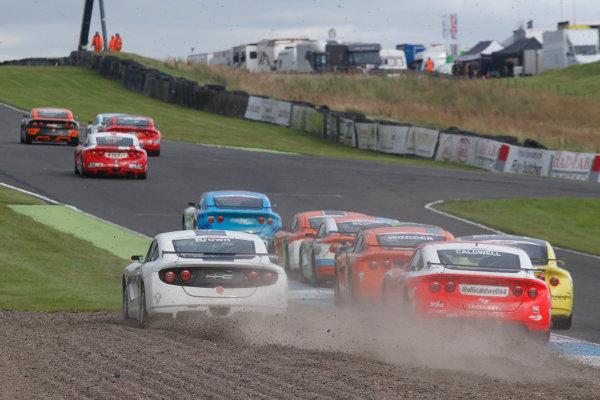 2016 Ginetta Junior Championship, Knockhill, Scotland. 13-14 August 2016. Lewis Brown (GBR) HHC Motorsport  Ginetta Junior. World Copyright: Ebrey / LAT Photographic.