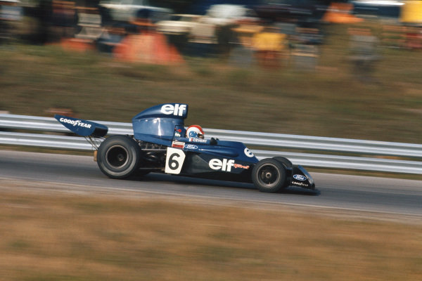 1973 Canadian Grand Prix.  Mosport Park, Ontario, Canada. 21st-23rd September 1973.  Francois Cevert, Tyrrell 006 Ford.  Ref: 73CAN45. World copyright: LAT Photographic