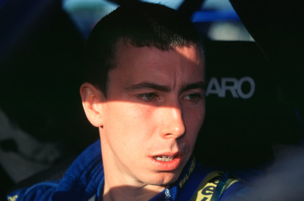 2001 FIA World Rally ChampsRallye de France, Ajaccio, Corsica, 18th-21st October 2001.Markko Martin, Portrait.World Copyright: LAT Photographic/McKlein.ref: 35mm Image A14