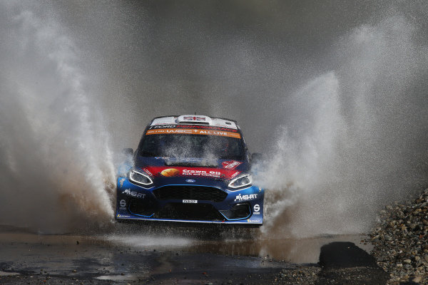 Gus Greensmith (GB), M-Sport Ford WRT, Ford Fiesta R5 2019