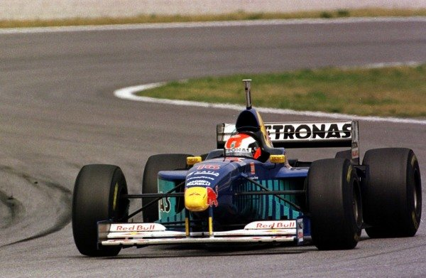 1997 Spanish Grand Prix.Catalunya, Barcelona, Spain.23-25 May 1997.Johnny Herbert (Sauber C16 Petronas Ferrari) 5th position.World Copyright - Tee/LAT Photographic