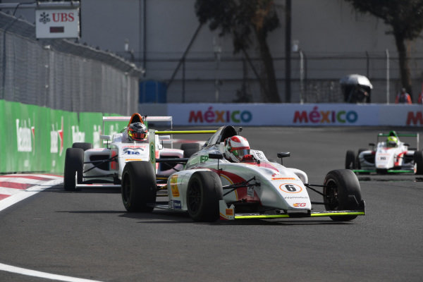 Baltazar Legizamon (ARG) MOMOF4 1 RACING TEAM at Formula 4 Series, Circuit Hermanos Rodriguez, Mexico City, Mexico, 29 October 2016.