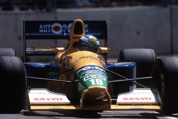 Michael Schumacher, Benetton B191 Ford.