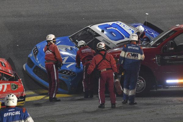 #61: Robby Lyons II, Hattori Racing Enterprises, Toyota Supra CSM Masonry