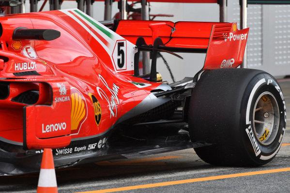Ferrari SF-71H rear