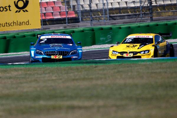 Gary Paffett Mercedes-AMG Team HWA, Mercedes-AMG C63 DTM, Timo Glock, BMW Team RMG, BMW M4 DTM.