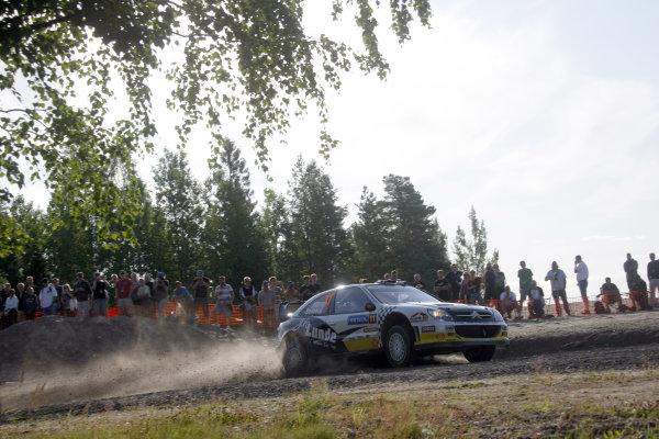Round 09Rally Finland 39Juli-3 August  2009Petter Solberg, Citroen WRC, ActionWorldwide Copyright: McKlein/LAT