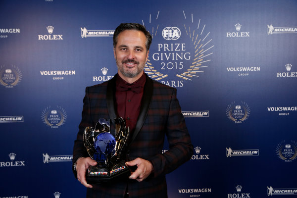 2015 FIA Prize Giving Paris, France Friday 4th December 2015 Yvan Muller, portrait  Photo: Copyright Free FOR EDITORIAL USE ONLY. Mandatory Credit: FIA / Jean Michel Le Meur  / DPPI ref: _ML23424