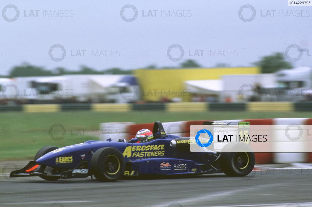 2000 British Formula 3 Championship. Croft, England. 23rd July 2000. Marcus Ambrose makes his Formula 3 debut. Race action. World Copyright: Peter Spinney / LAT Photographic.