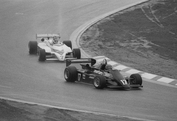 Kenny Acheson (GBR), Maurer MM83-BMW, finished 10th. European Formula Two Championship, Rd3, Jim Clark Rennen, Hockenheim, Germany, 10 April 1983.