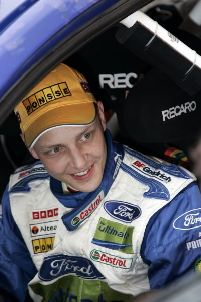 2007 FIA World Rally ChampionshipRound 4Rally Mexico 20078th-11th March 2007Mikko Hirvonrn, Ford, Portrait.Worldwide Copyright: McKlein/LAT