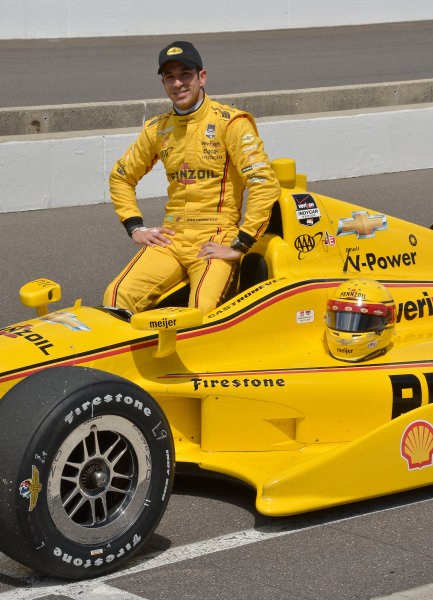 17-18 May, 2014, Indianapolis, Indiana, USA #3 Helio Castroneves, Pennzoil Ultra Platinum Team Penske ©2014 Dan R. Boyd LAT Photo USA