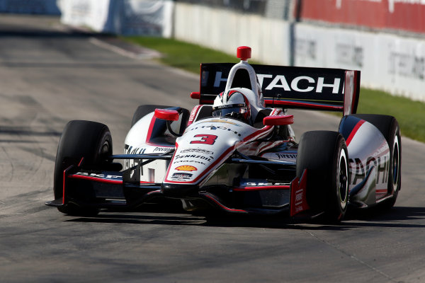 1 June, 2014, Detroit, Michigan, USA Helio Castroneves. ?2014, Brian Cleary LAT Photo USA