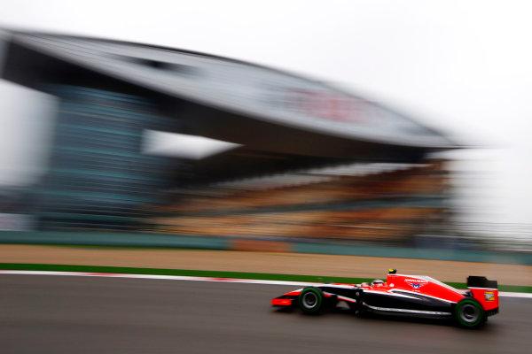 Shanghai International Circuit, Shanghai, China. Saturday 19 April 2014. Max Chilton, Marussia MR03 Ferrari. World Copyright: Charles Coates/LAT Photographic. ref: Digital Image _N7T2631