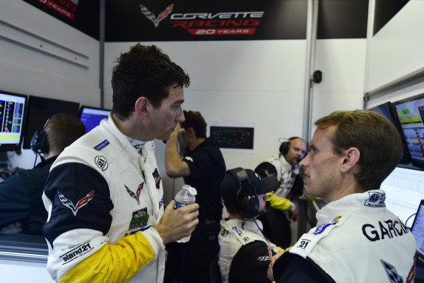#64 Corvette Racing Chevrolet Corvette C7.R: Oliver Gavin, #63 Corvette Racing Chevrolet Corvette C7.R:  Antonio Garcia,