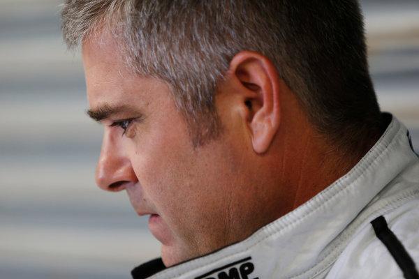 FIA Formula E Test Day, Donington Park, UK.  3rd - 4th July 2014.  Gil de Gerran, Andretti Autosport. Photo: Zak Mauger/FIA Formula E ref: Digital Image _L0U4439