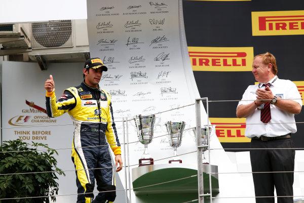 2014 GP2 Series Round 7. Hungaroring, Budapest, Hungary. Sunday 27 July 2014. Felipe Nasr (BRA, Carlin)  Photo: Sam Bloxham/GP2 Series Media Service. ref: Digital Image _SBL9456