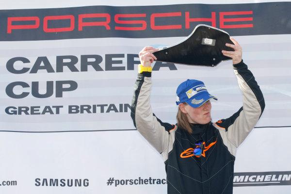 2014 Porsche Carrera Cup GB, Knockhill, 23-24 August 2014, Carol Brown (GBR) In2 Racing Porsche World Copyright: Ebrey/LAT Photographic