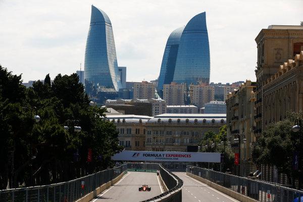 Baku City Circuit, Baku, Azerbaijan. Friday 23 June 2017. Stoffel Vandoorne, McLaren MCL32 Honda. World Copyright: Andrew Hone/LAT Images ref: Digital Image _ONY8359