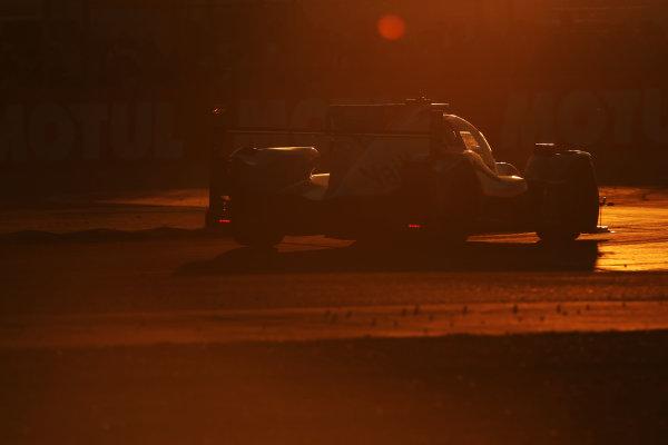 2017 Le Mans 24 Hours Circuit de la Sarthe, Le Mans, France. Thursday 15 June 2017 #31 Vaillante Rebellion ORECA 07-Gibson: Nicolas Prost, Julien Canal, Bruno Senna  World Copyright: JEP/LAT Images