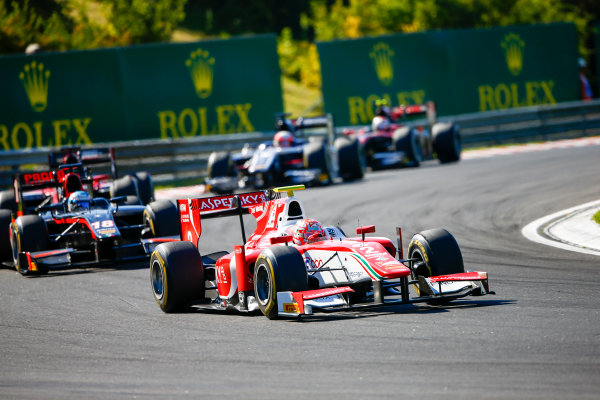Hungaroring, Budapest, Hungary. Saturday 29 July 2017 Antonio Fuoco (ITA, PREMA Racing).  Photo: Hone/FIA Formula 2 ref: Digital Image _ONZ9798
