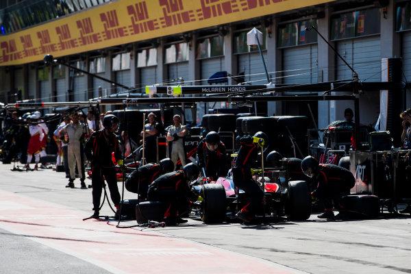 2017 FIA Formula 2 Round 5. Red Bull Ring, Spielberg, Austria. Saturday 8 July 2017. Alexander Albon (THA, ART Grand Prix).  Photo: Zak Mauger/FIA Formula 2. ref: Digital Image _56I3056