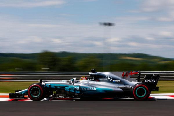Hungaroring, Budapest, Hungary.  Friday 28 July 2017. Lewis Hamilton, Mercedes F1 W08 EQ Power+. World Copyright: Andy Hone/LAT Images  ref: Digital Image _ONY9580
