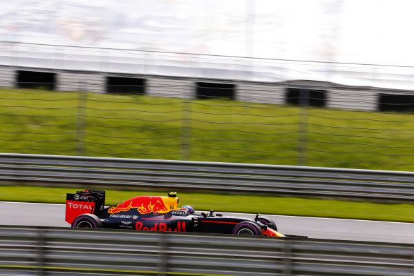 Red Bull Ring, Spielberg, Austria. Saturday 02 July 2016. Max Verstappen, Red Bull Racing RB12 TAG Heuer. World Copyright: Steven Tee/LAT Photographic ref: Digital Image _X0W3473