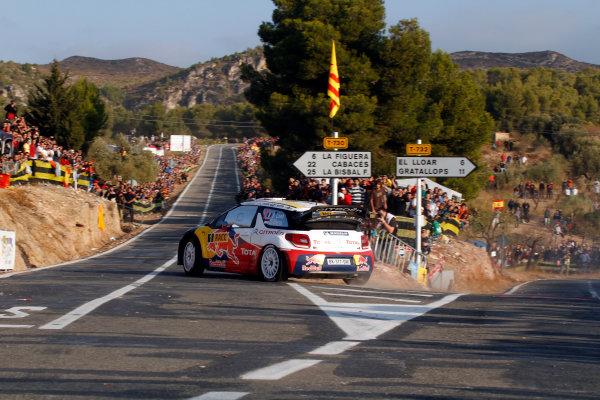 Round 12-Rally Spain. 20th-23th October 2011.Sebastien Loeb, Citroen WRC, Action.Worldwide Copyright: McKlein/LAT