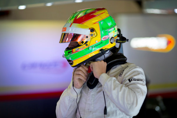 Circuit de Barcelona Catalunya, Barcelona, Spain. Tuesday 14 March 2017. Roberto Merhi (ESP, Campos Racing). Photo: Alastair Staley/FIA Formula 2 ref: Digital Image 585A7803