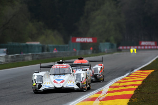 2017 FIA World Endurance Championship. Spa-Francorchamps, Belgium, 4th-6th May 2017. 13 Vaillante Rebellion Racing Oreca 07 Gibson: Mathias Beche, David Heinemeier Hansson, Nelson Piquet Jr. World Copyright: JEP/LAT Images