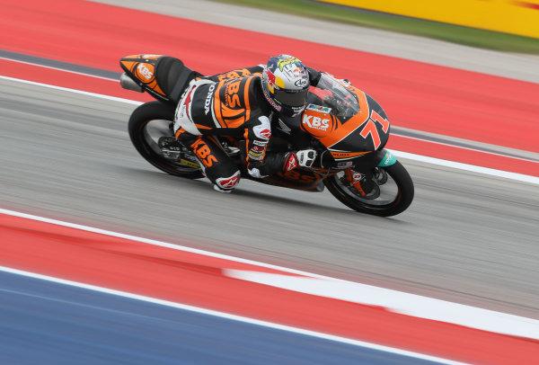 2017 Moto3 Championship - Round 3 Circuit of the Americas, Austin, Texas, USA Friday 21 April 2017 Ayumu Sasaki, SIC Racing Team World Copyright: Gold and Goose Photography/LAT Images ref: Digital Image Moto3-500-1819