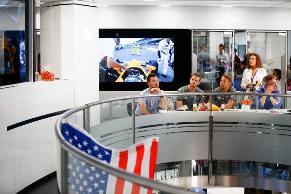 Monte Carlo, Monaco. Sunday 28 May 2017. Jenson Button, McLaren. World Copyright: Andy Hone/LAT Images ref: Digital Image _ONY2037
