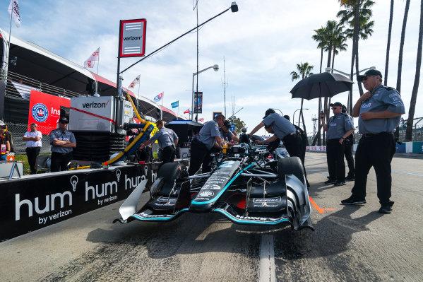 2017 Verizon IndyCar Series Toyota Grand Prix of Long Beach Streets of Long Beach, CA USA Friday 7 April 2017 Josef Newgarden World Copyright: Gavin Baker/LAT Images