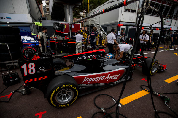2017 FIA Formula 2 Round 3. Monte Carlo, Monaco. Friday 26 May 2017. Nyck De Vries (NED, Rapax)  Photo: Zak Mauger/FIA Formula 2. ref: Digital Image _54I5497