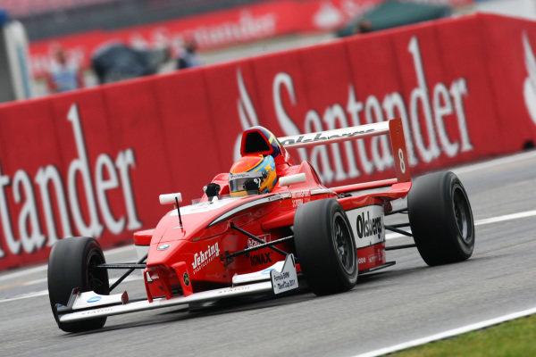Race winner Timmy Hansen (SWE)  Mucke-Motorsport. Formula BMW Europe, Rds 7 & 8, Hockenheim, Germany, 23-25 July 2010.